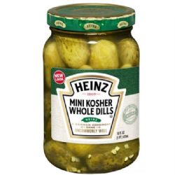 Mini Kosher Whole Dill Pickles | Heinz | American | Buy Online | UK